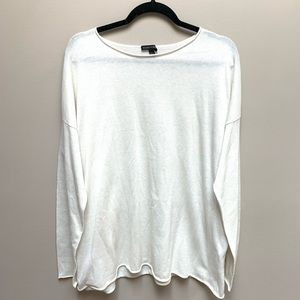 Eileen Fisher Tencel & Organic Cotton Silk Sweater